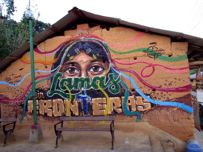 Mural, Plaza de Lamas. Foto: Pinto