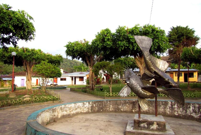 Plaza de San Roque de Cumbaza.