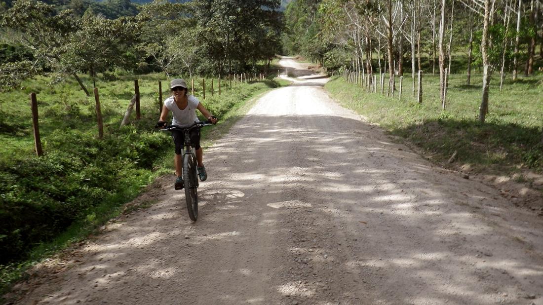 bicicleta en oxapampa