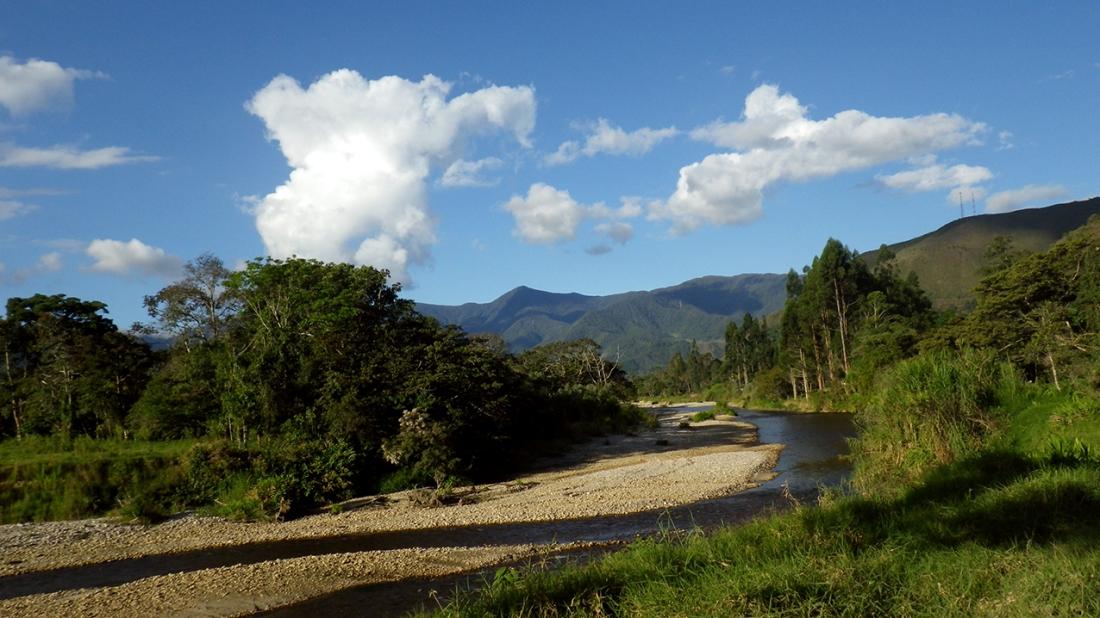 Río Chontabamba.