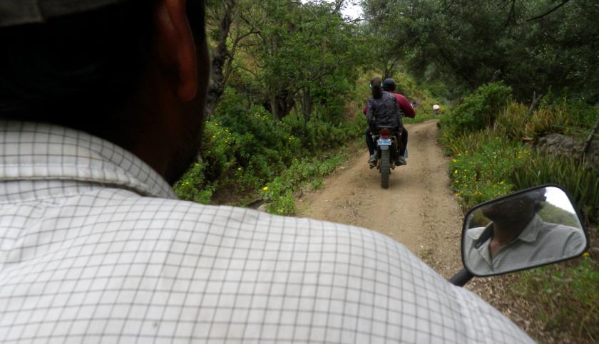 camino a cahuamarca