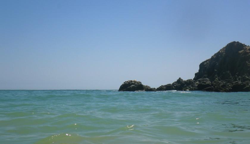 mar en puerto inca