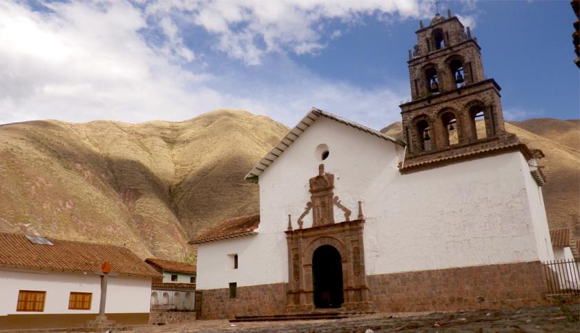 Templo de San Juan Bautista de Huaro