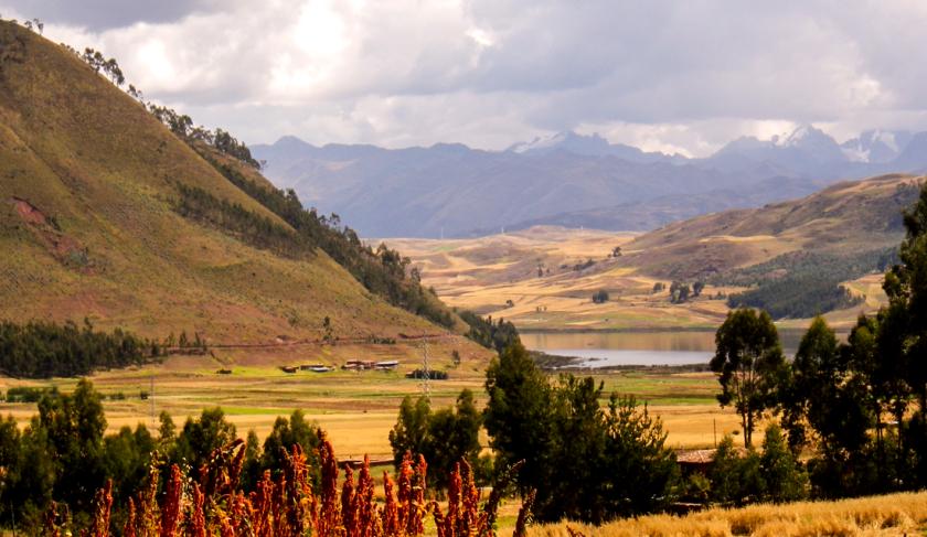 vista de huaypo